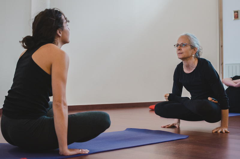 Retratos yoga Ashtanga yoga Sitges