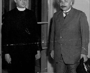 george lemaitre albert einstein