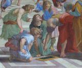 euclide raffaello scuola di atene