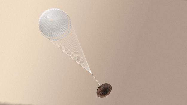 schiaparelli paracadute ESA