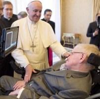 papa francesco stephen hawking novembre 2016