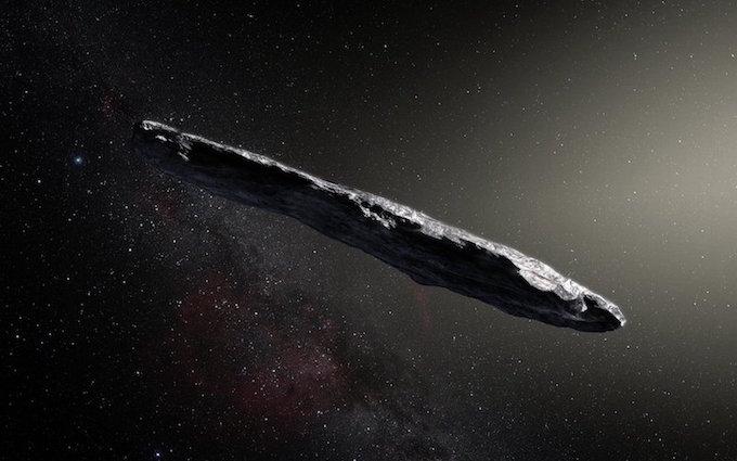 Oumuamua, cortesia Eso - Komesser