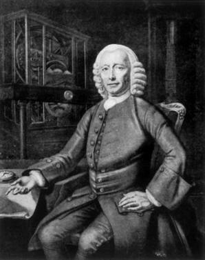 ritratto di John Harrison, opera diPhilippe Joseph Tassaert
