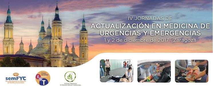 IV Jornadas nacionales de urgencias de semfyc
