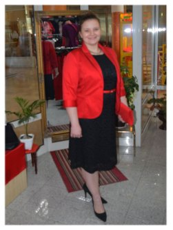 Sako DOMENIKA i haljina VIOLETA