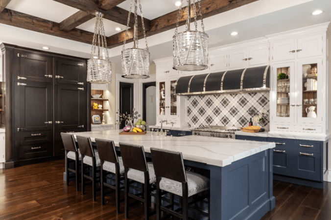 Custom kitchen interior by Srote & Co Architects