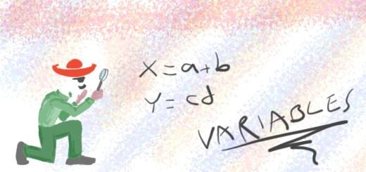 Variables scripting