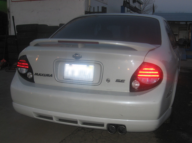 srs nissan maxima 00 03 type re catback exhaust system