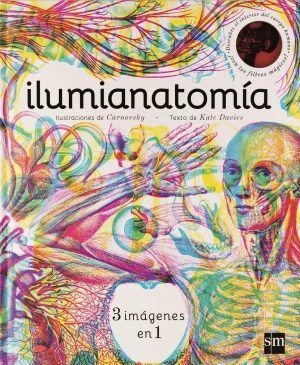 anatomía para niños, ilumianatomía, libro 3d de anatomía,