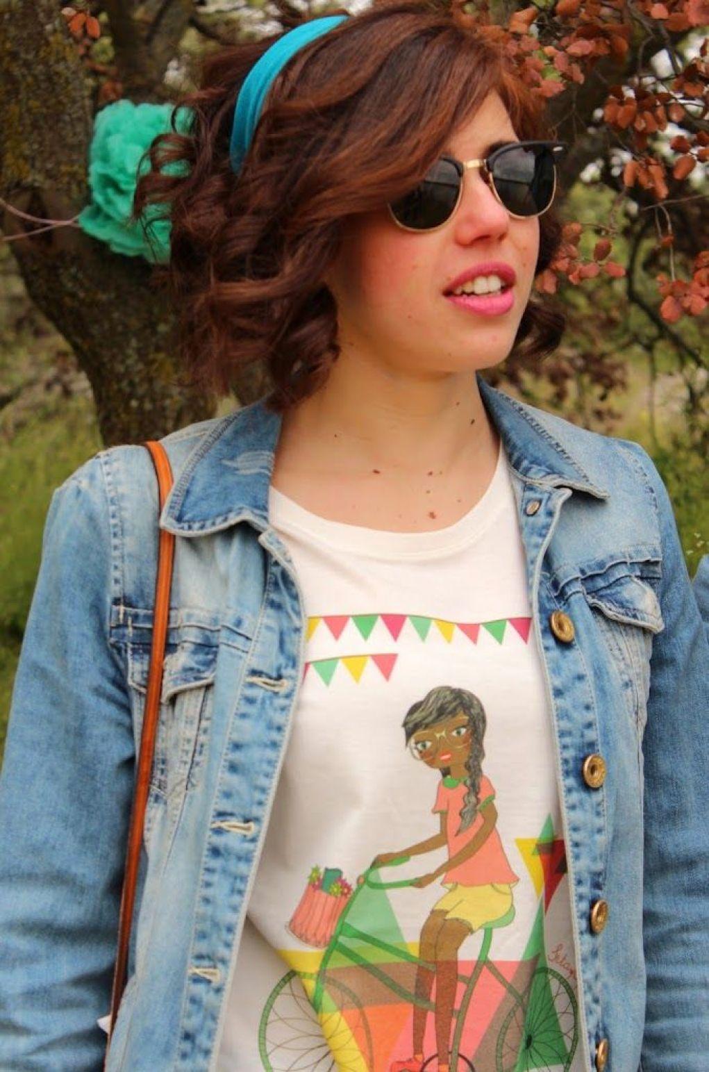 Camiseta ilustrada