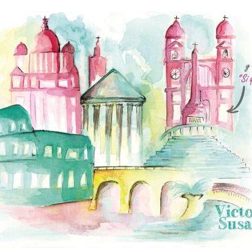 Invitación de Boda Roma Victor&Susana