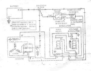 Here is the wiring diagram to convert generator to alternator  CorvetteForum  Chevrolet