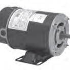 US Electric pump motor Catalog AGH10FL1 Model S055NPW7256013J 1HP 3450 RPM 48Y Frame