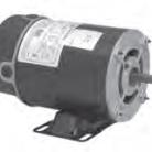 US Electric pump motor Catalog AGH10FL1 Model S055NPW7256013J 1HP 3450 RPM 48Y Frame