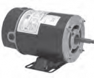 Century electric pump motor BN25V1 1HP-3450 RPM-48Y Frame-115VAC 1PH