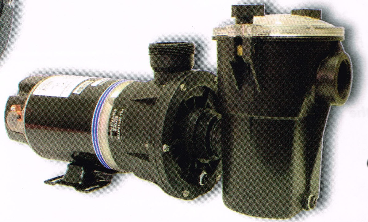 New ppc single speed pump js10cds 1hp 115 vac 12 0 amps for Above ground pool motors