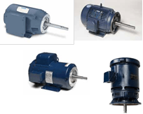 Close-Coupled Pump Motors 3 Phase AC