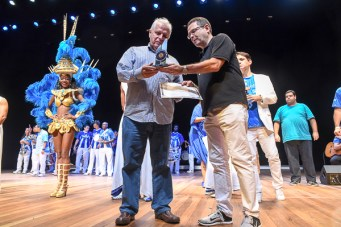 Melhor escola do Grupo Especial: Portela - Prêmio SRzd Carnaval 2017. Foto: Juliana Dias