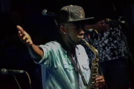 Chacal do Sax. Foto: Tamara Muniz