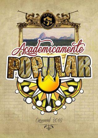 Logo da São Clemente para o Carnaval 2018. Foto: Divulgação
