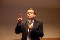 A palestra de Sidney Rezende. Foto: Jaqueline Machado