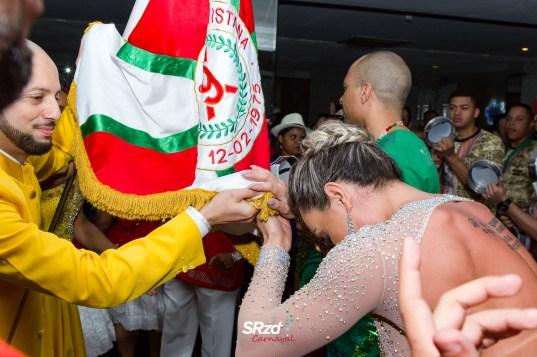 Sorteio da ordem de desfile do Carnaval de SP 2018. Foto: SRzd - Wadson Ferreira