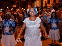 Ensaio de rua da Vila Isabel. Foto: Eduardo Hollanda