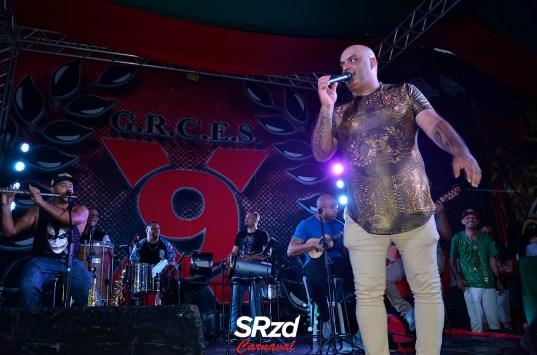 Lançamento do enredo 2019 da X-9 Paulistana - Diretor de Carnaval, Pê Santana. Foto SRzd – Guilherme Queiroz