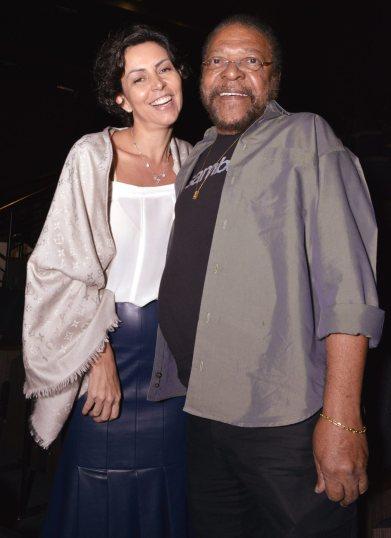 Cléo Ferreira e Martinho da Vila - Maio 2018 - Foto CG