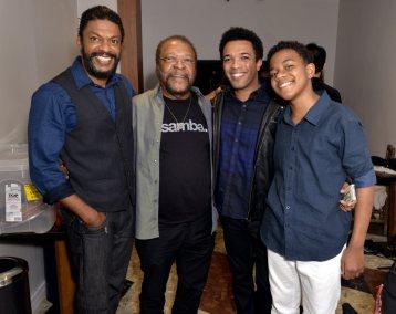 Os Martinhos - Nill Marcondes , Martinho da Vila , Junior Vieira e Victor Hugo - Maio 2018 - Foto CG