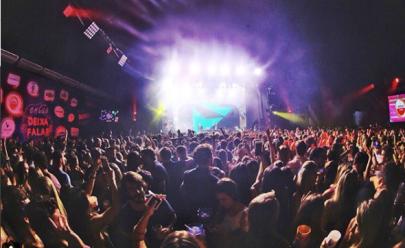 Um dos maiores camarotes da Sapucaí em 2018, 'Nosso Camarote' reuniu milhares de pessoas. Foto: Reprodução/Instagram