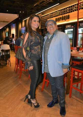 Dani Sperli e Gegê. Foto: Divulgação