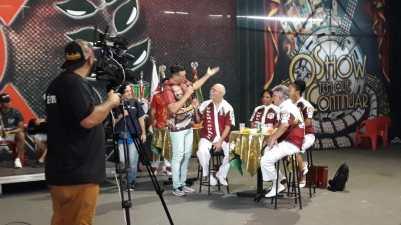 Live SRzd SP na X-9 Paulistana. Foto: SRzd
