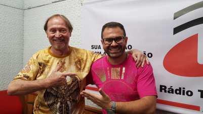 No Mundo do Samba. Foto: Rádio Trianon