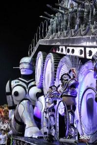 Desfile 2019 da Dragões da Real. Foto: SRzd – Bruno Giannelle
