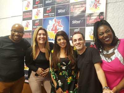 Programa No Mundo do Samba recebe Patrícia Liberato e Andrea Jota. Foto: SRzd