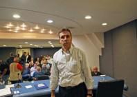 Jorge Castaneira na Assembleia Geral da Liesa (10/07/19). Foto: Henrique Matos