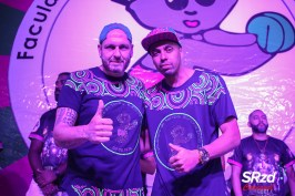 Marcão (diretor de Carnaval) e Ewerton Cebolinha (presidente) da Barroca Zona Sul. Foto: SRzd – Bruno Giannelli