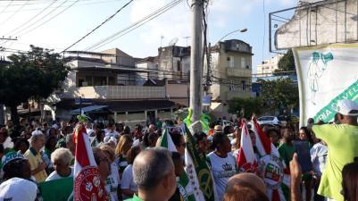 Ato #FicaLuizinho. Foto: Reprodução