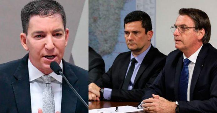 Resultado de imagem para Glenn Greenwald MORO E BOLSONARO