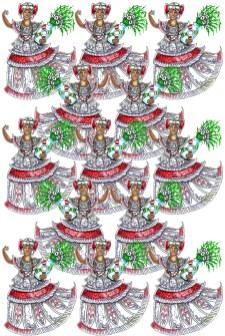 Ala 21 – Baianinhas Festa no Terreiro (Filhas de Santo)