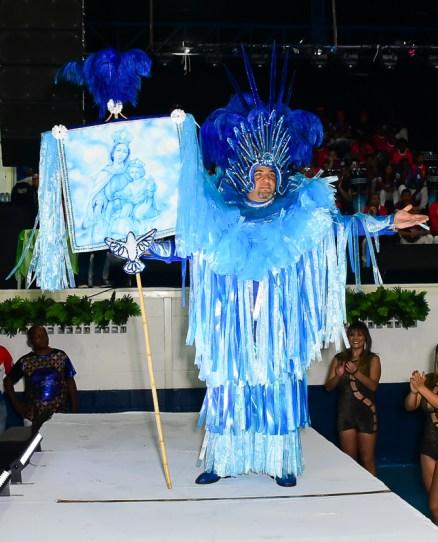 Apresentação das fantasias da Estrela do Terceiro Milênio para o Carnaval 2020. Foto: Divulgação – Léo Franco