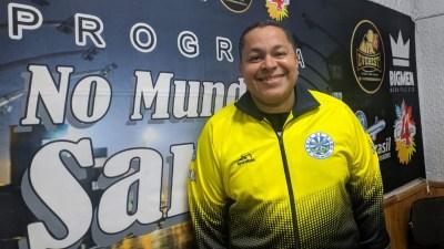 """Programa No Mundo do Samba"" recebe Darlan Alves. Foto: Rádio Trianon"
