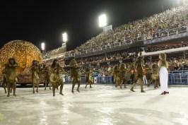 Desfile Estácio de Sá 2020. Foto: Leandro Milton/SRzd