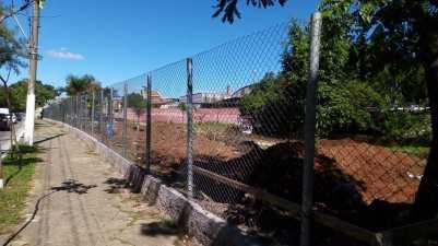 Construção da nova quadra da Imperatriz da Paulicéia. Foto: Reprodução.