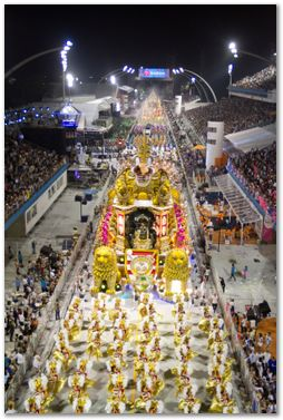 Desfile 2012 da Rosas de Ouro. Foto: SPTuris - Jose Cordeiro