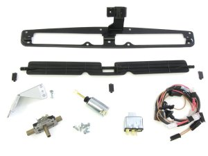 19701972 Chevelle Cowl Induction Inner Door Kit