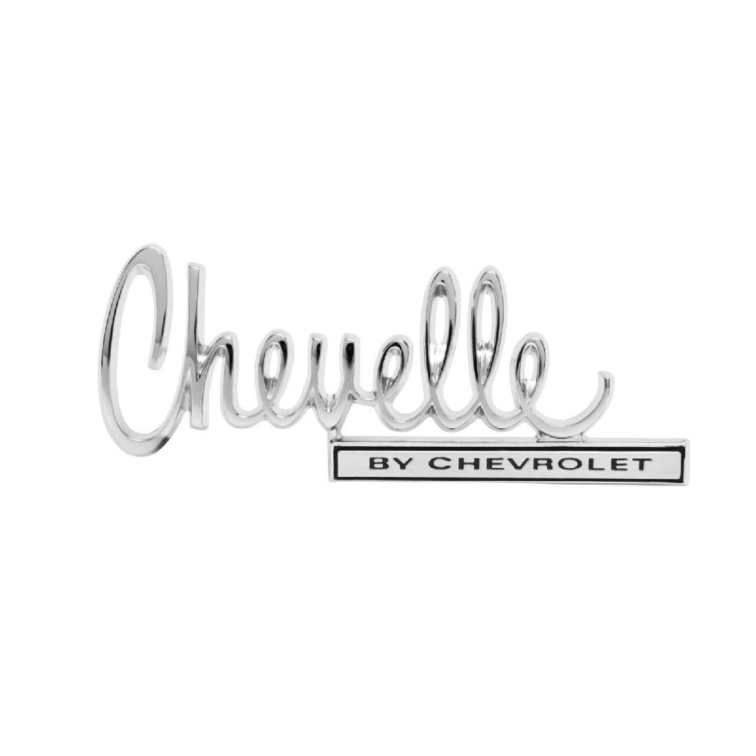Chevrolet By Chevrolet Trunk Emblem