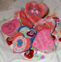 Free Heart Shaped Valentine's Day Paper Models