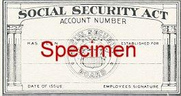 Original SSN Card Design